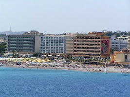 Rhodes beach hotels